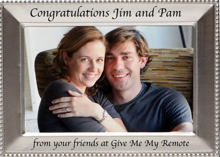Jim And Pam Wedding.The Office Jim Pam Get Married Give Me My Remote Give Me My