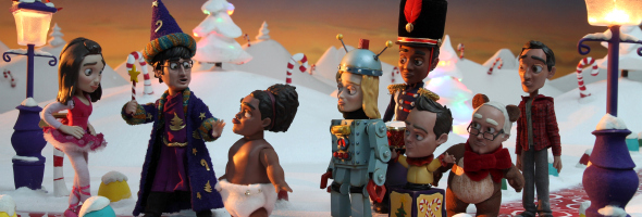 COMMUNITY: Christmas Claymation Episode Previews with Danny Pudi ...
