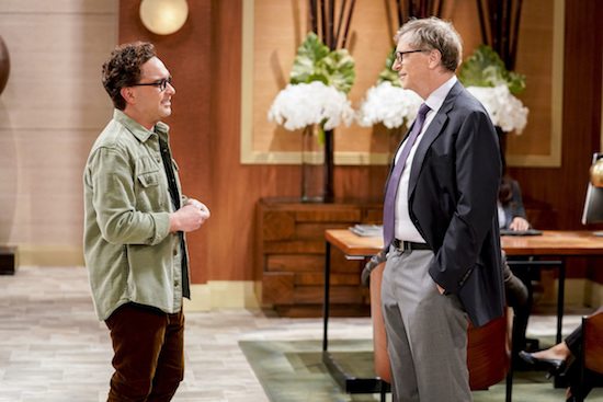 The Big Bang Theory Bill Gates