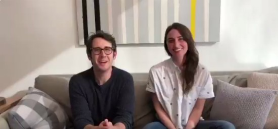 Sara Bareilles Josh Groban 2018 Tony Hosts