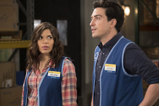 Superstore Jonah and Amy have sex