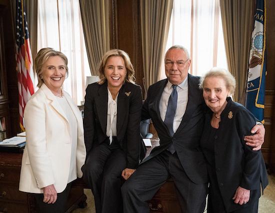 MADAM SECRETARY: Madeleine Albright, Hillary Clinton