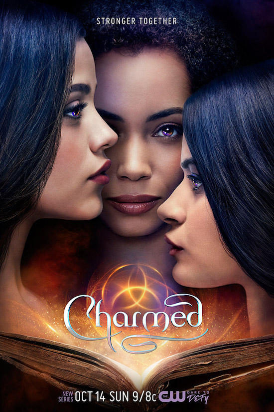 Key Art for CHARMED and ALL AMERICAN