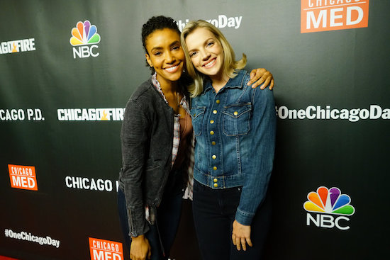 Annie Ilonzeh and Kara Killmer
