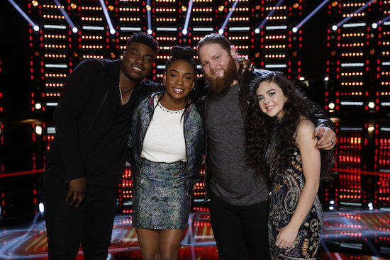 THE VOICE and AMERICA'S GOT TALENT