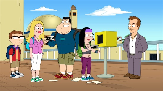 AMERICAN DAD! Return