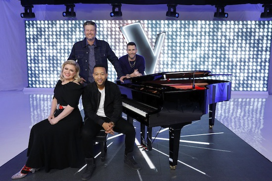 The Voice season 17 coaches