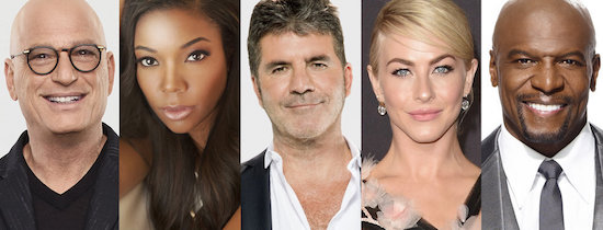 AMERICA'S GOT TALENT: Gabrielle Union and Julianne Hough