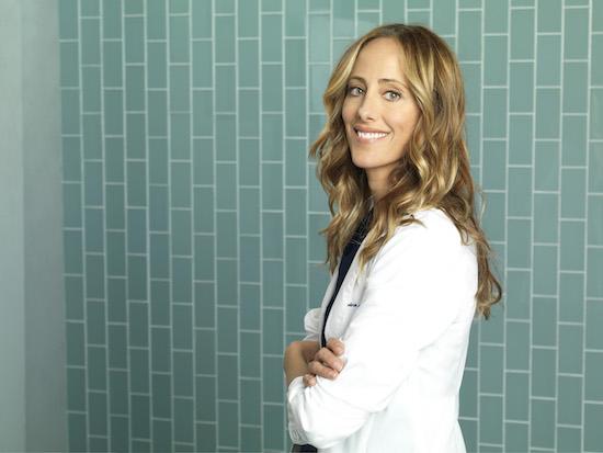 Grey's Anatomy Kim Raver