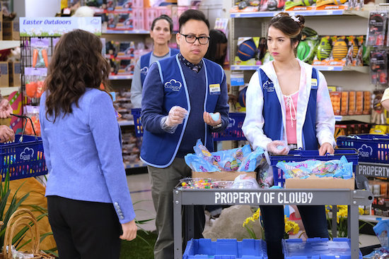 SUPERSTORE, GREY'S ANATOMY, MOM