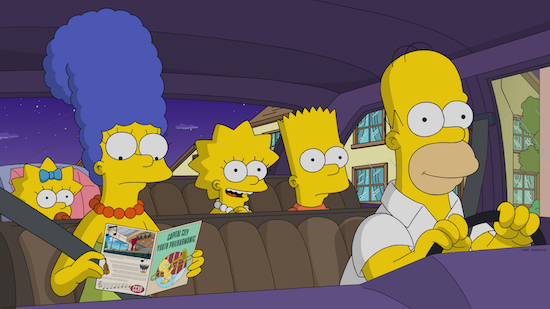 THE SIMPSONS, AMERICAN IDOL, SUPERGIRL