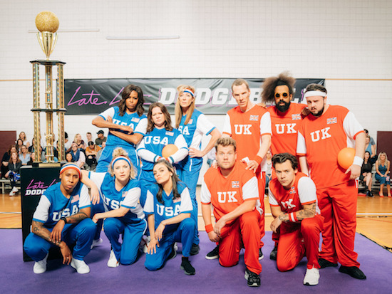 THE LATE LATE SHOW dodgeball