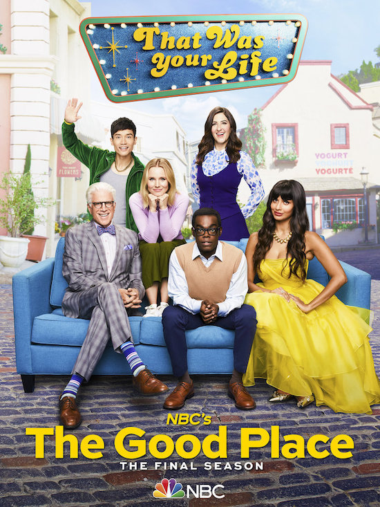 THE GOOD PLACE Final Season Key Art