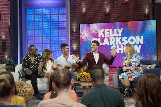 Kelly Clarkson Show American Idol Reunion