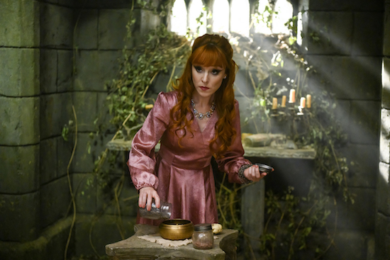 Supernatural Rowena Dies