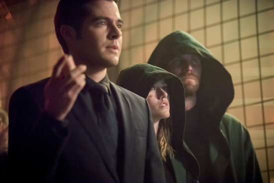 THE FLASH, THE VOICE, and ARROW