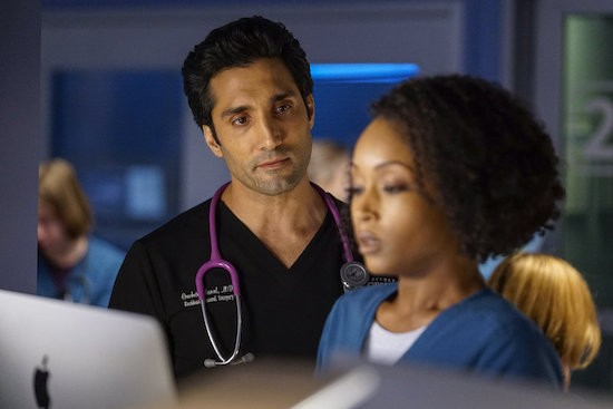 Chicago Med April Ethan engaged