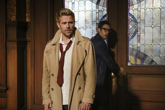 Legends of Tomorrow Constantine lung cancer