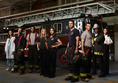 Cast of Chicago Fire on NBC