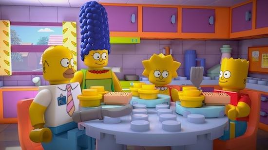 """The Simpsons: """"Brick Like Me"""""""