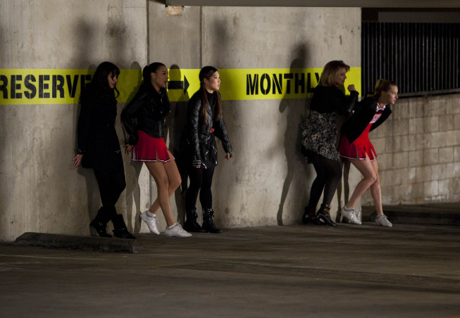 The McKinley High ladies looks like they are up to no good