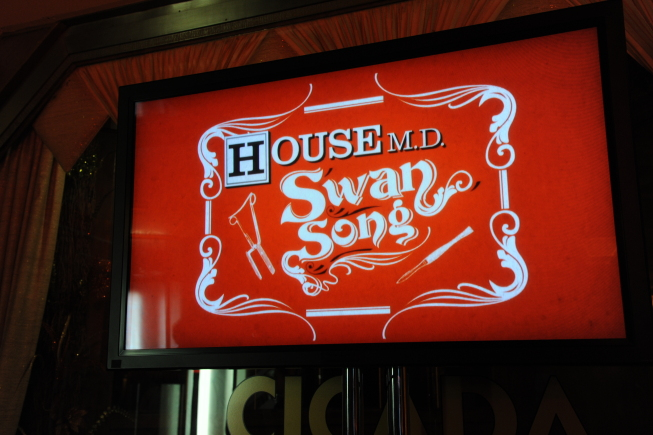 HOUSE SERIES WRAP PARTY