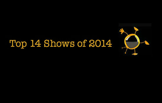 Kelly's Top 14 Shows of 2014