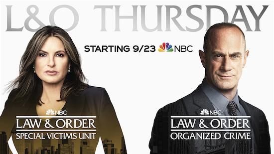LAW & ORDER Thursdays