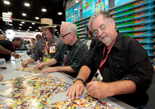 THE SIMPSONS at Comic-Con