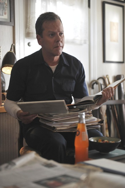 TOUCH:  Kiefer Sutherland as Martin Bohm in TOUCH which debuts with a special preview Wednesday, Jan. 25 (9:00-10:07 PM ET/PT) and then makes its series premiere Monday, March 19 (9:00-10:00 PM ET/PT) on FOX.  ©2012 Fox Broadcasting Co.  Cr:  Richard Foreman/FOX