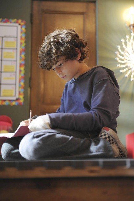 TOUCH:  David Mazouz as Jake Bohm in TOUCH which debuts with a special preview Wednesday, Jan. 25 (9:00-10:07 PM ET/PT) and then makes its series premiere Monday, March 19 (9:00-10:00 PM ET/PT) on FOX.  ©2012 Fox Broadcasting Co.  Cr:  Richard Foreman/FOX