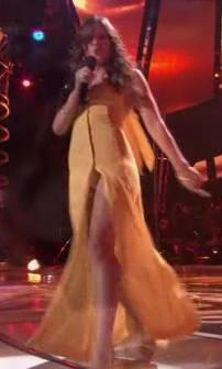 Katherine McPhee Yellow Dress