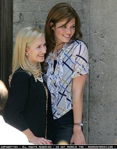 Angela Kinsey & Mandy Moore