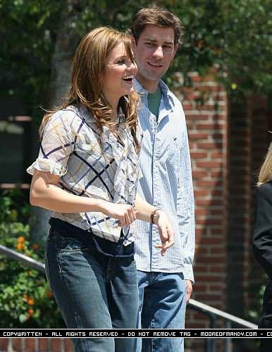 John Krasinski & Mandy Moore Pics from