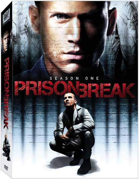 Prison Break Season One on DVD