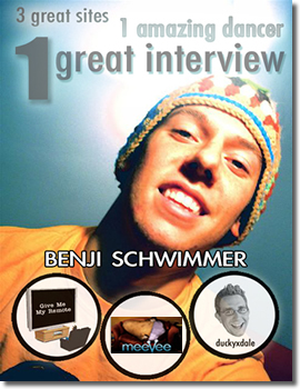 Exclusive Interview with Benji Schwimmer of So You Think You Can Dance