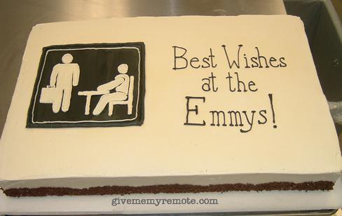 Emmy Office Cake