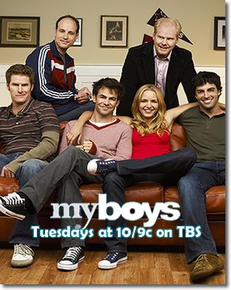 Cast of My Boys