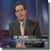 Ed Helms of The Office and The Daily Show