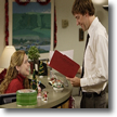 Jim and Pam, The Office, Benihana Christmas