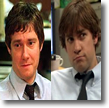 Tim and Jim, the office