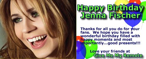 Happy Birthday Jenna Fischer
