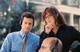 Ioan Guffudd and Sigourney Weaver, The TV Set