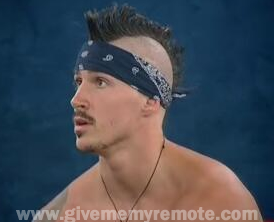 Nick from Big Brother, haircut