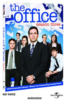 THE OFFICE Season 3 on DVD