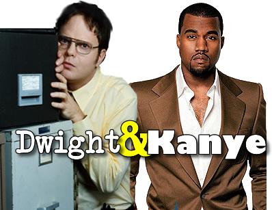 Rainn Wilson & Kanye West Emmy Night Duet