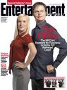 Angela Kinsey & Rainn Wilson, The Office, EW