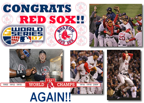 Red Sox World Series 2007