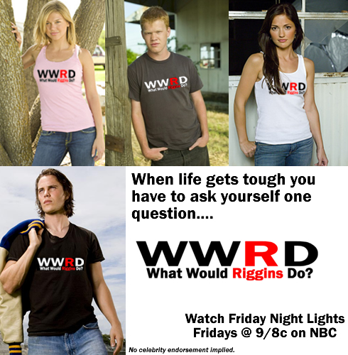 WWRD - What Would Riggins Do