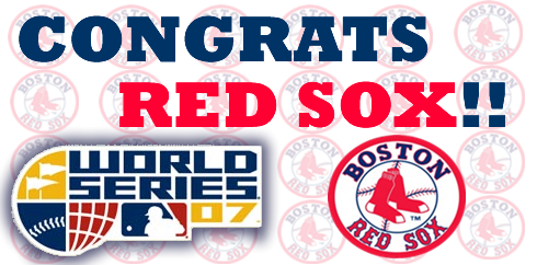 Red Sox Going to the World Series